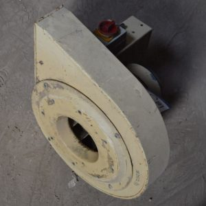STEEL CASED CENTRIFUGAL FAN WITH ELECTRIC MOTOR
